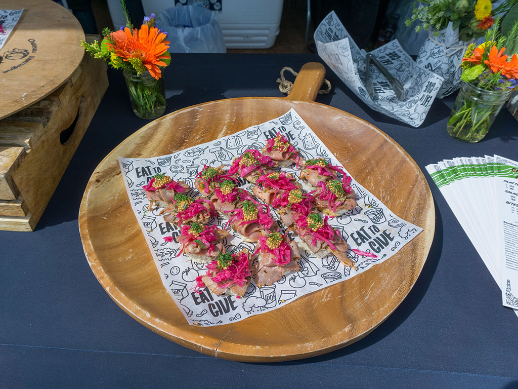 Taste Of The Wasatch 2017 - Evens Stevens dish