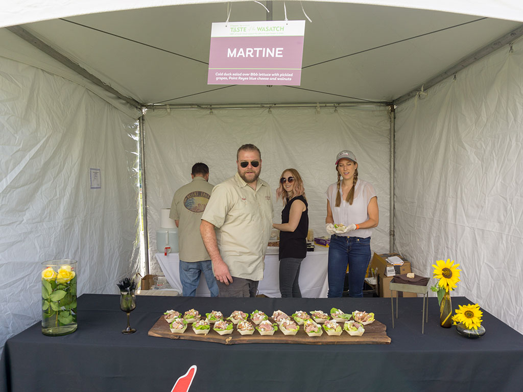 Taste Of The Wasatch 2017 - Martine