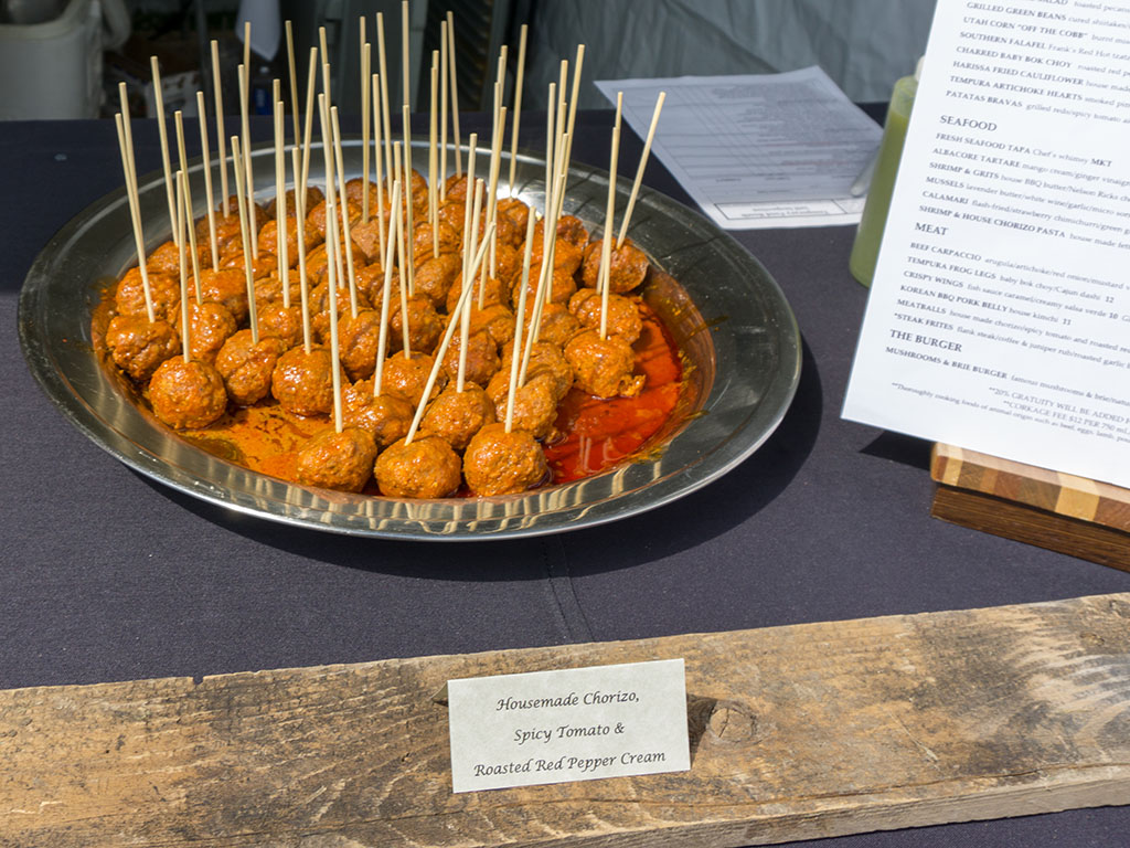 Taste Of The Wasatch 2017 - Meditrina chorizo