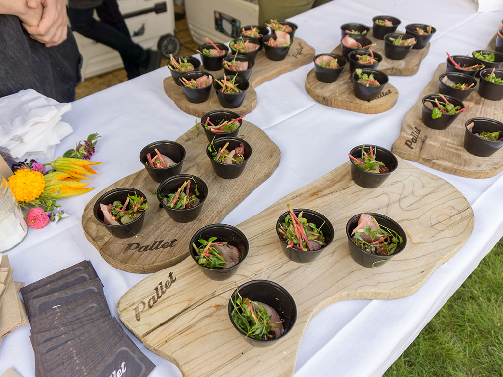 Taste Of The Wasatch 2017 - Pallet dish