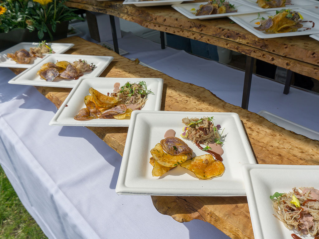 Taste Of The Wasatch 2017 - The Blended Table dish