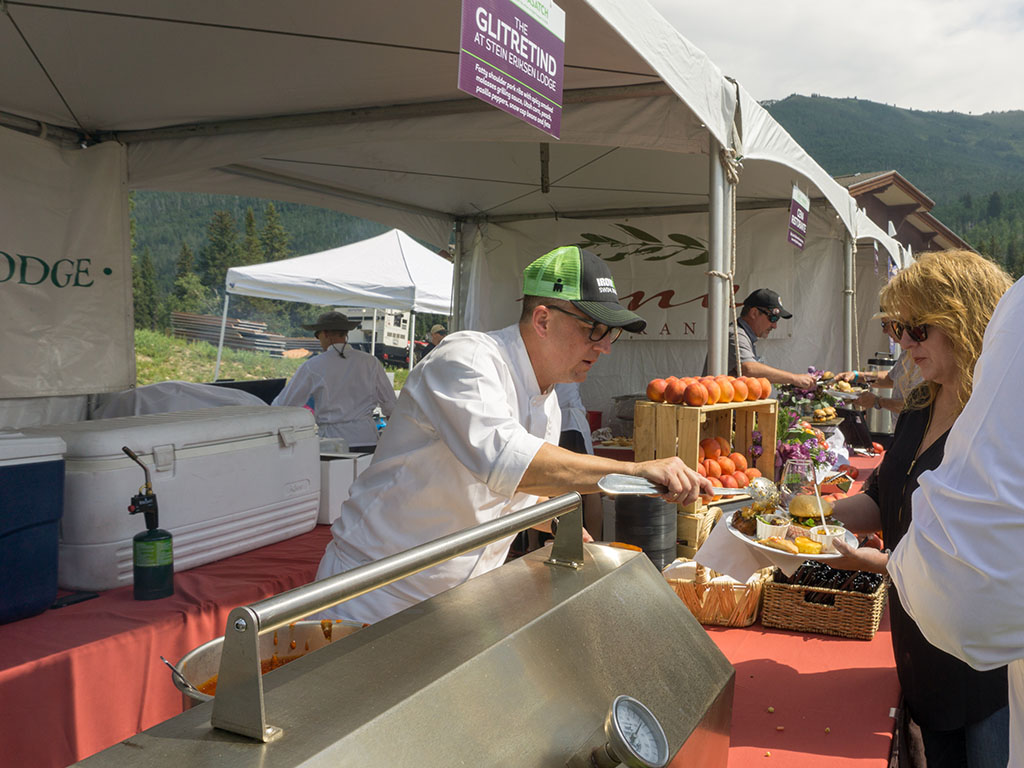 Taste Of The Wasatch 2017 - Zane Holmquist of Stein Eriksen Lodge