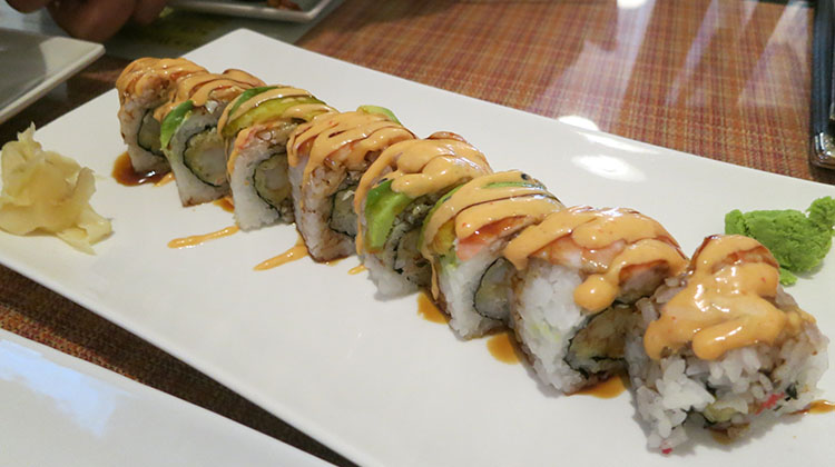 Itto Sushi - maki roll from original Midvalr location
