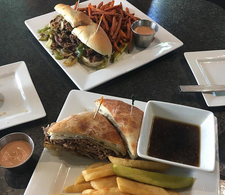 Lunch dishes from Hug-hes cafe (utahtravelerandfoodie)