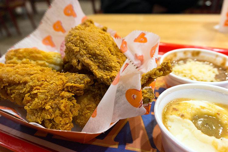 Popeyes Louisiana Kitchen - fried chicken