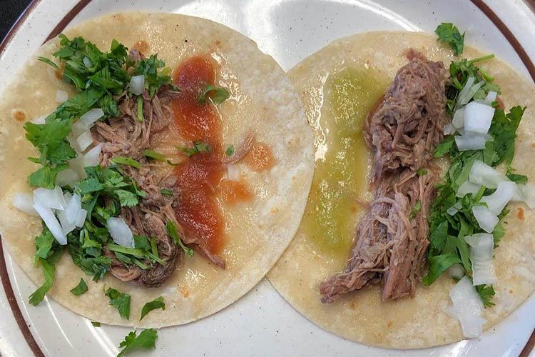 Taqueria Los Lee - barbacoa tacos (Taqueria Los Lee)