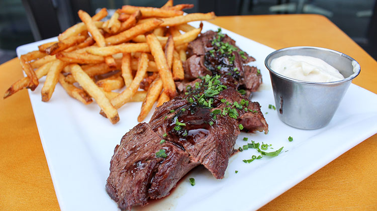 Avenues Proper - hanger steak (Avenues Proper)