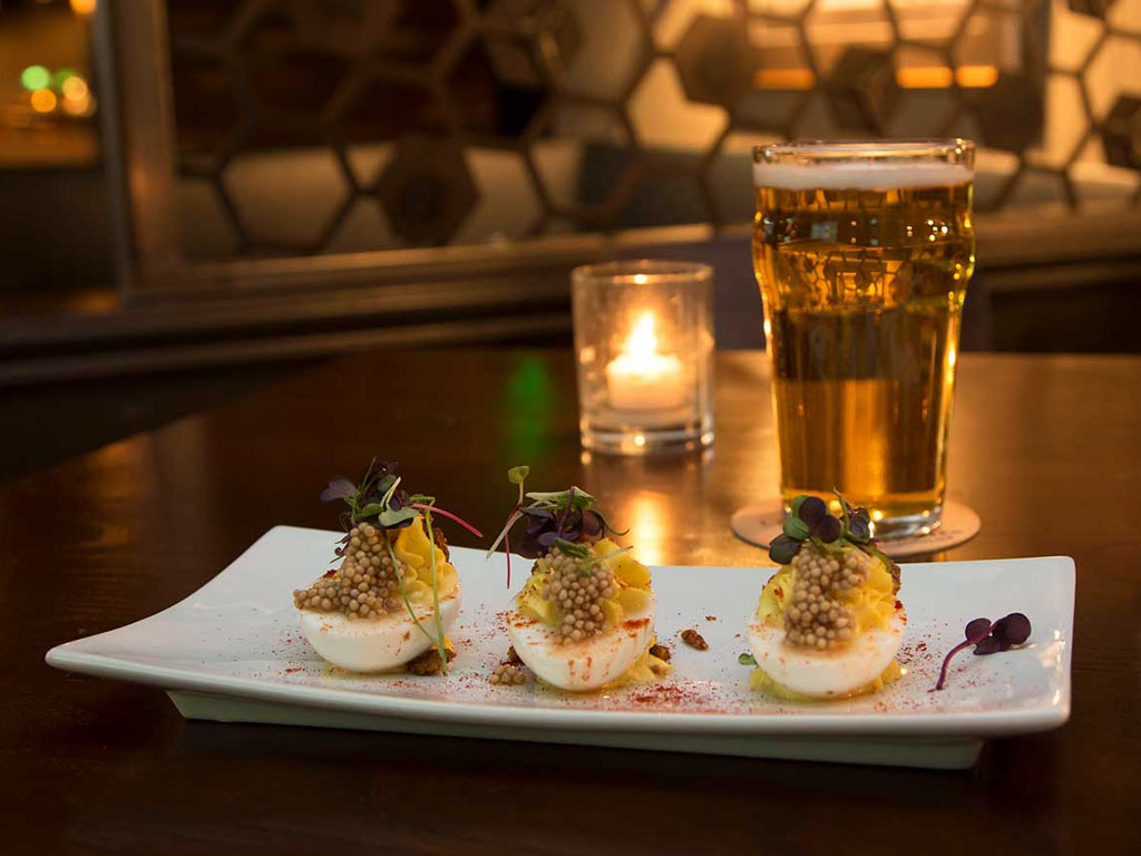 Bourbon House - deviled eggs (Bourbon House)