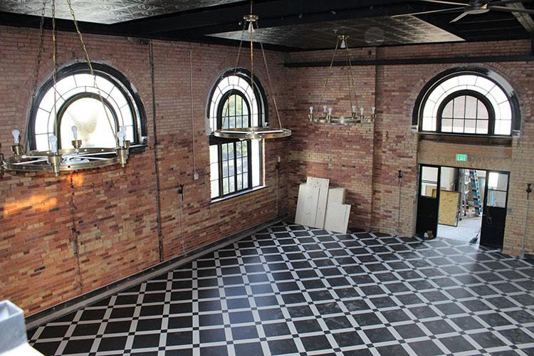 Caffe Molise - inside the new Eagle building