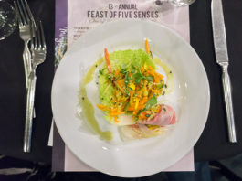 Feast Of The Five Senses - Vietnamese salad from Tom Grant