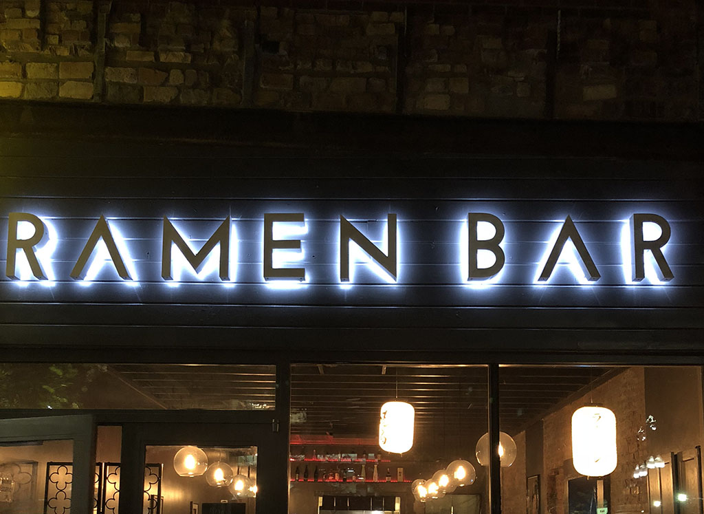 Ramen Bar in downtown SLC