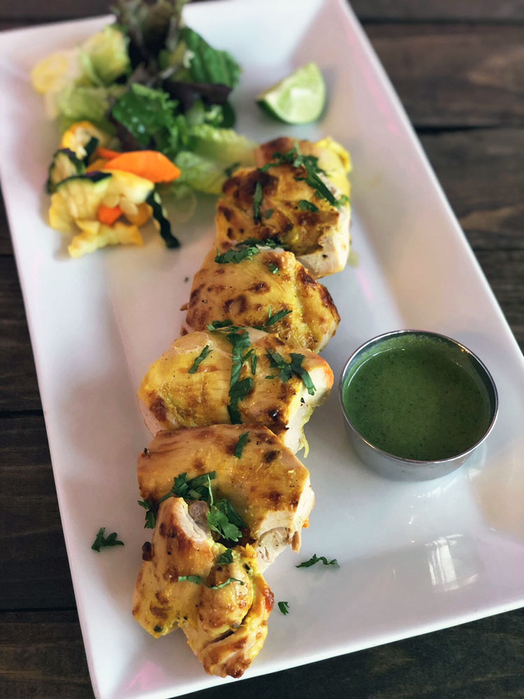 Saffron Valley - chicken kebabs (Saffron Valley)