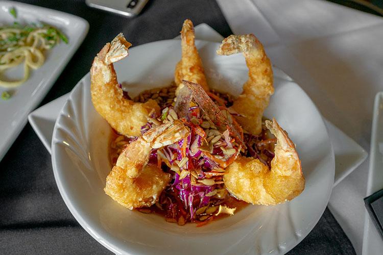 Cucina - tempura prawns