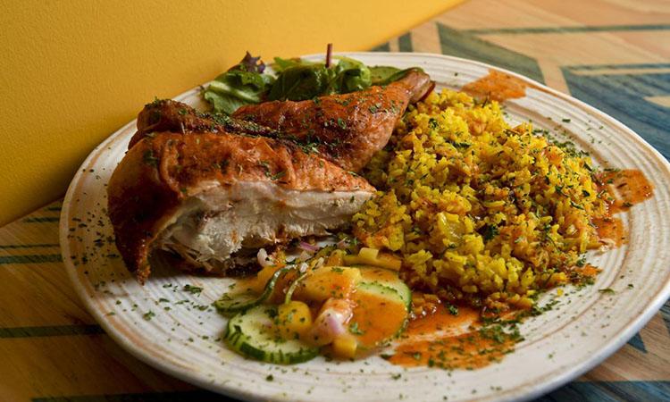 Zulu Piri Piri - half chicken (Daily Herald | Isaac Hale)
