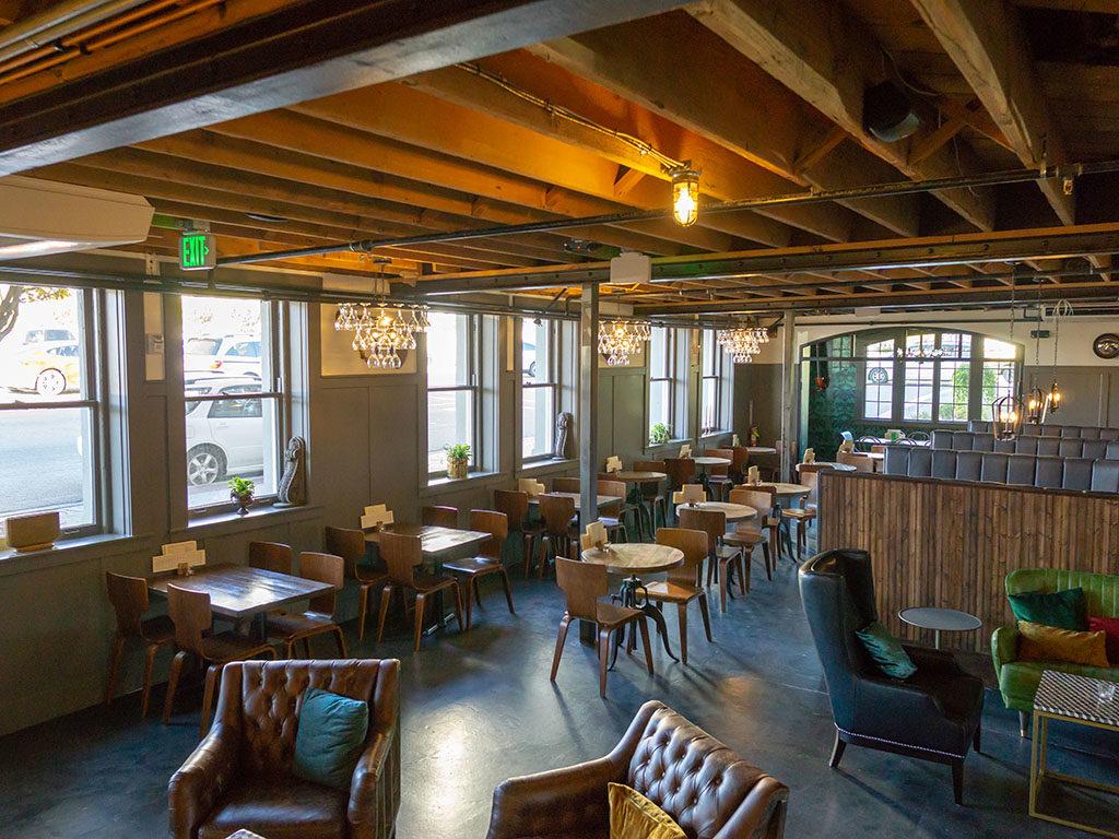 BTG Wine Bar - new Eagle building interior