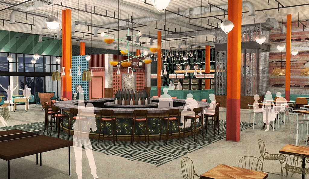 Punch Bowl Social Salt Lake City rendering (Punch Bowl)
