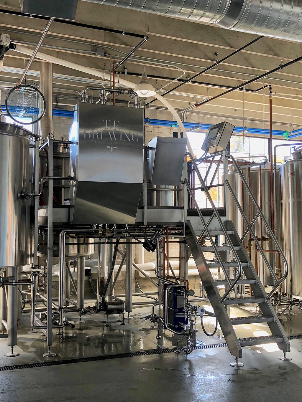 T.F. brewery setup (T.F. Brewing)
