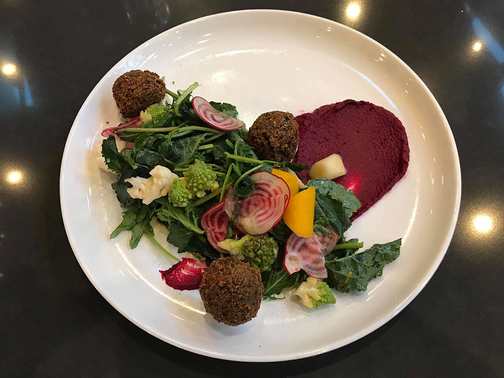 Beet salad (Current Fish And Oyster)