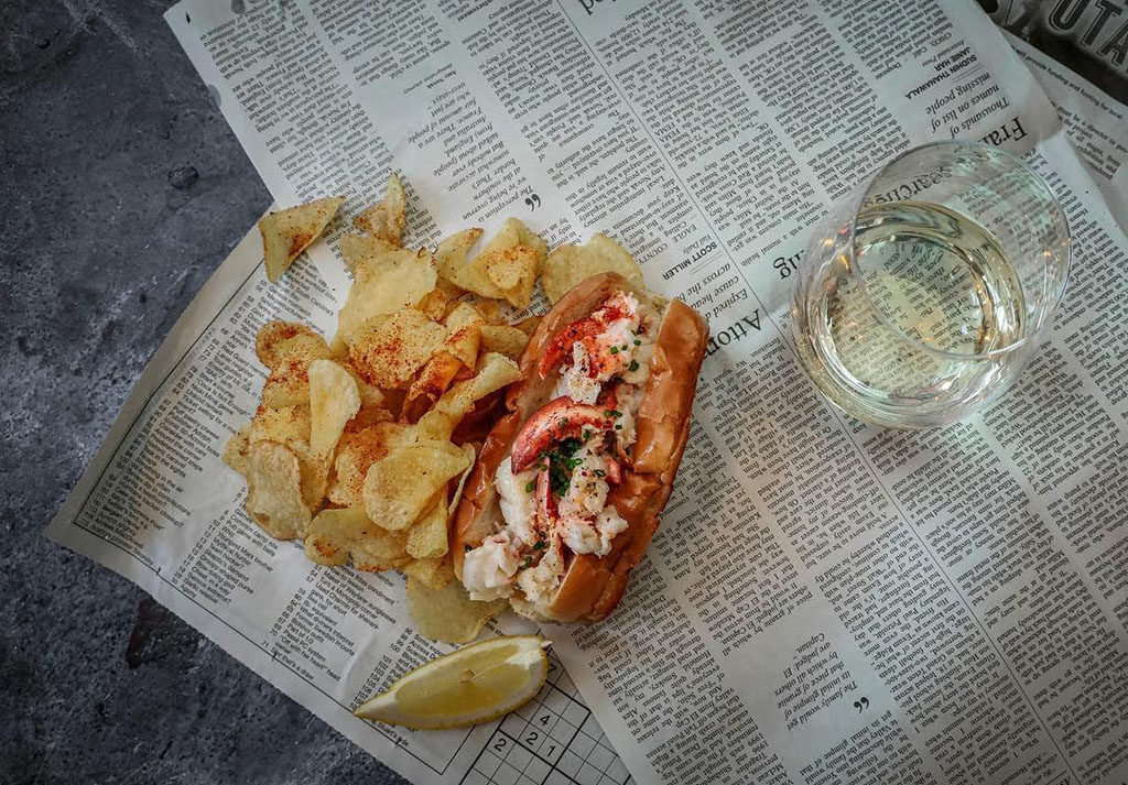 Lobster roll (RIME Raw Bar)