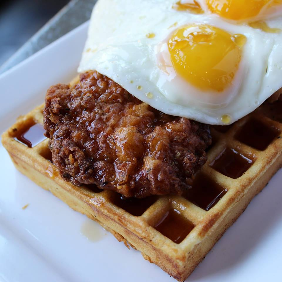 Chicken and waffles (Avenues Proper)