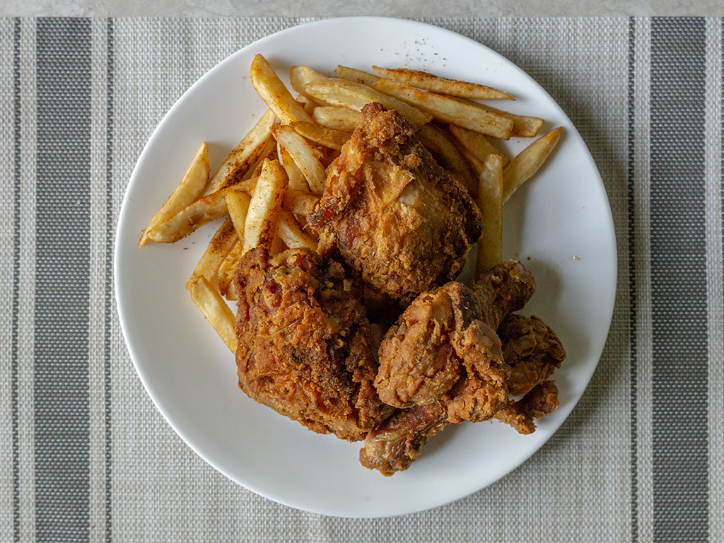 Curry Fried Chicken