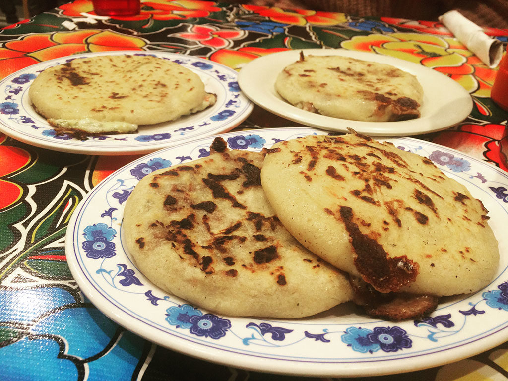 Fernando's Cafe Guanaco - pupusa (djdrewmusic)
