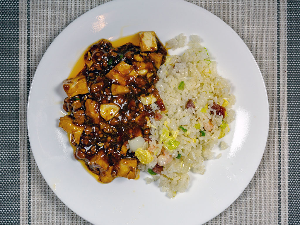 Mom's Kitchen - Mapo tofu with special fried rice