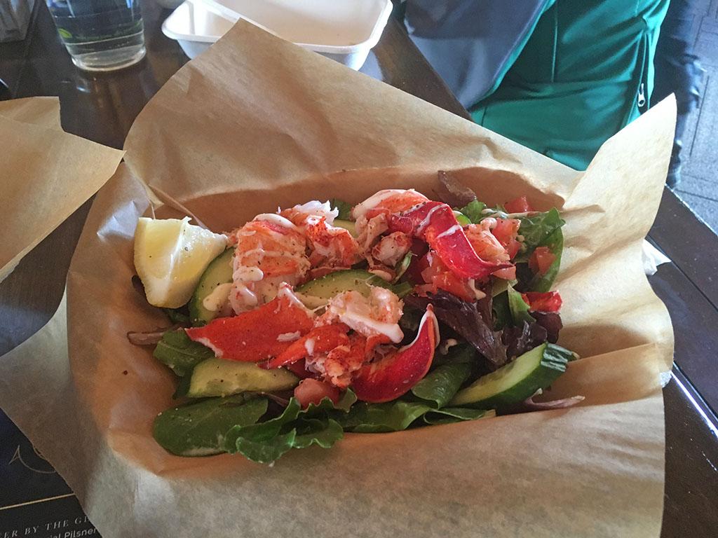 RIME Seafood And Raw Bar - lobster salad (Katherine Stevenson)