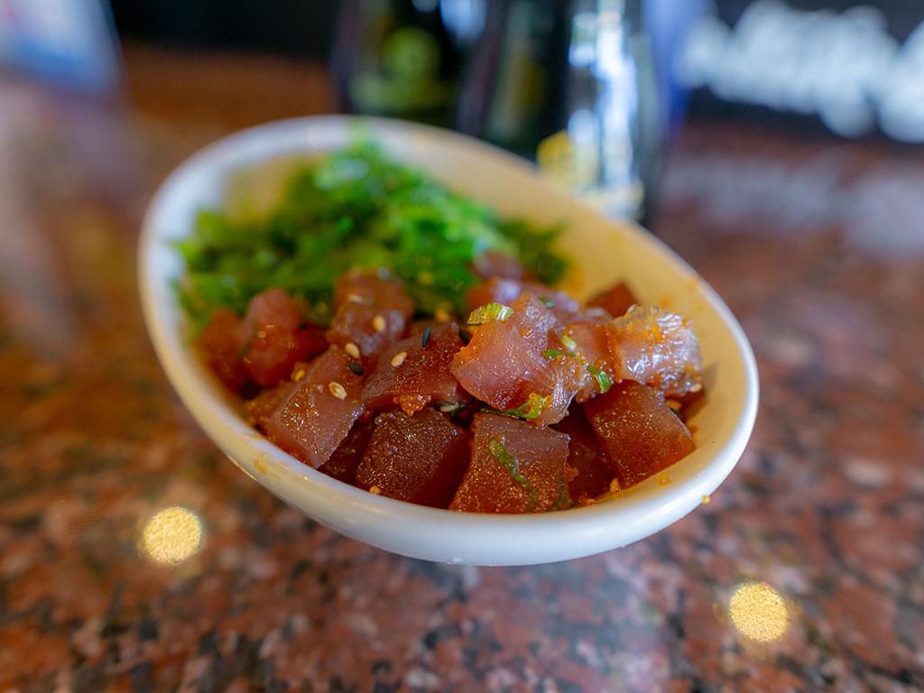 Sushi Groove - ahi tuna