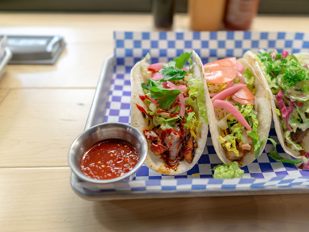 The Angry Korean - fusion tacos