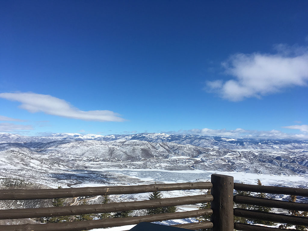 View from RIME at Deer Valley (Katherine Stevenson)