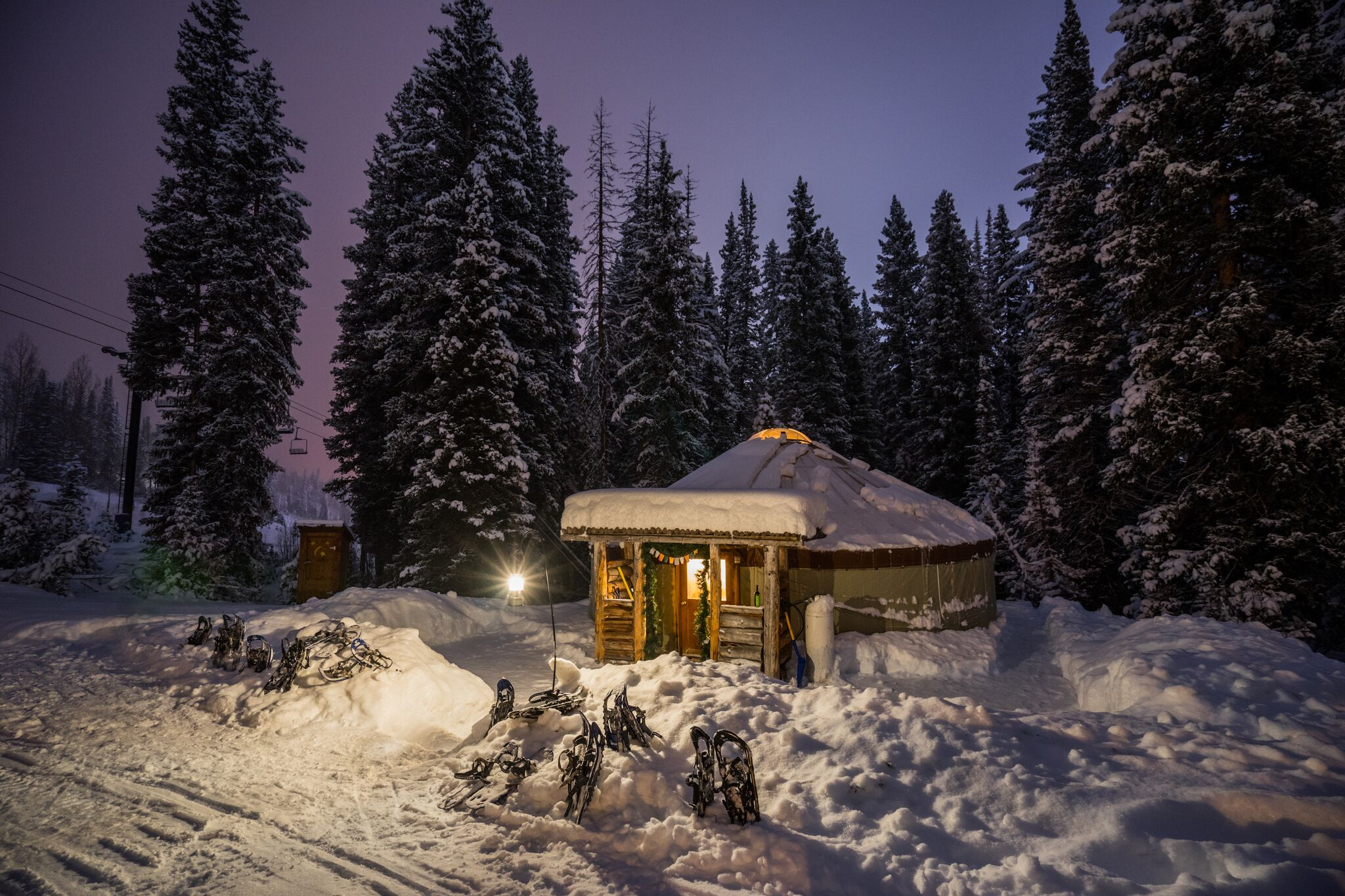 The Yurt At Solitude (Solitude Mountain Resort)
