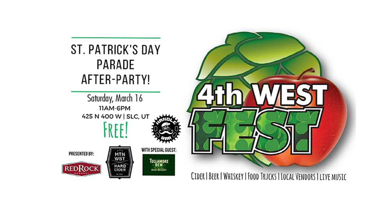 St Patricks 4th west fest 2019