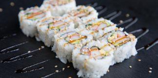 Five Sushi Brothers maki sushi large