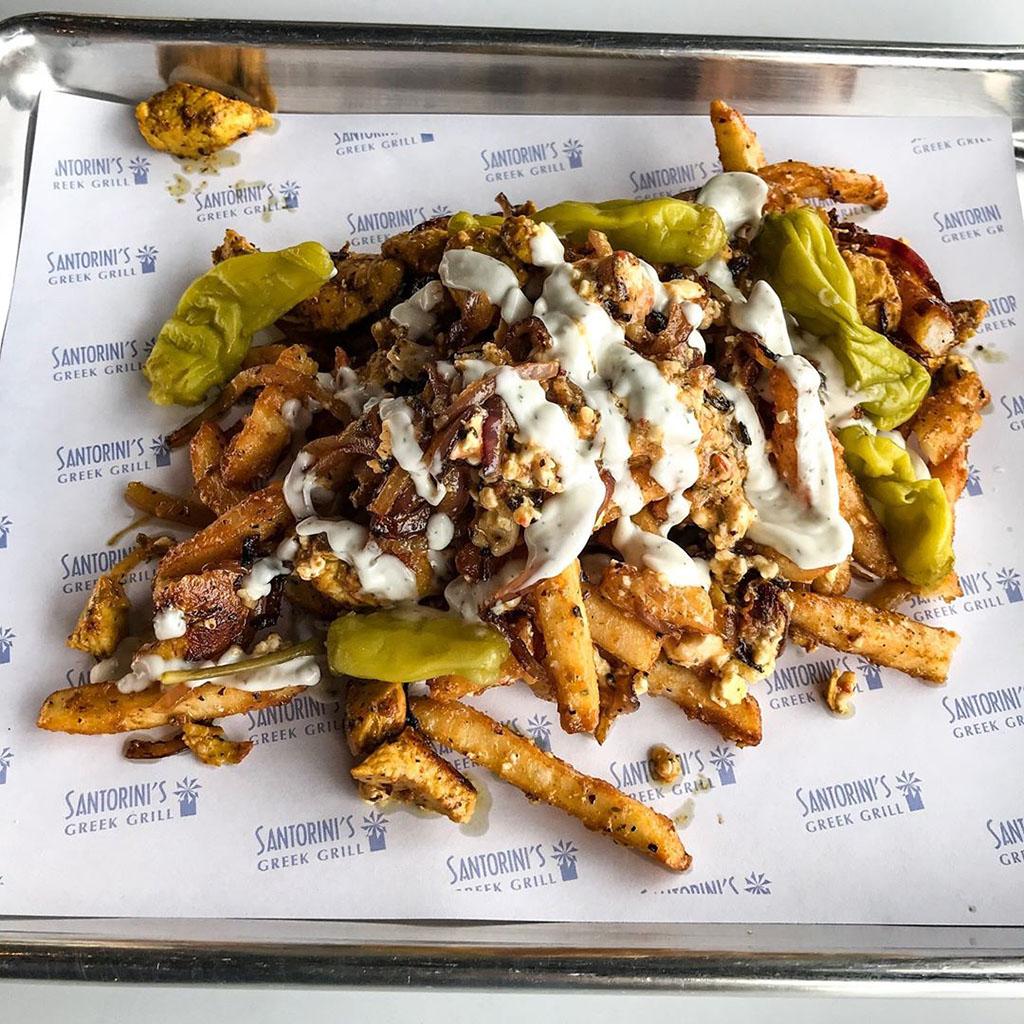 Fries (Santorini's Greek Grill)
