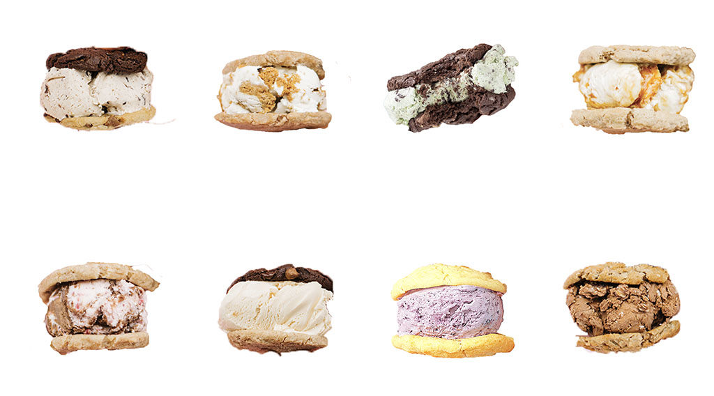 Gourmet ice cream sandwiches (Penguin Brothers)