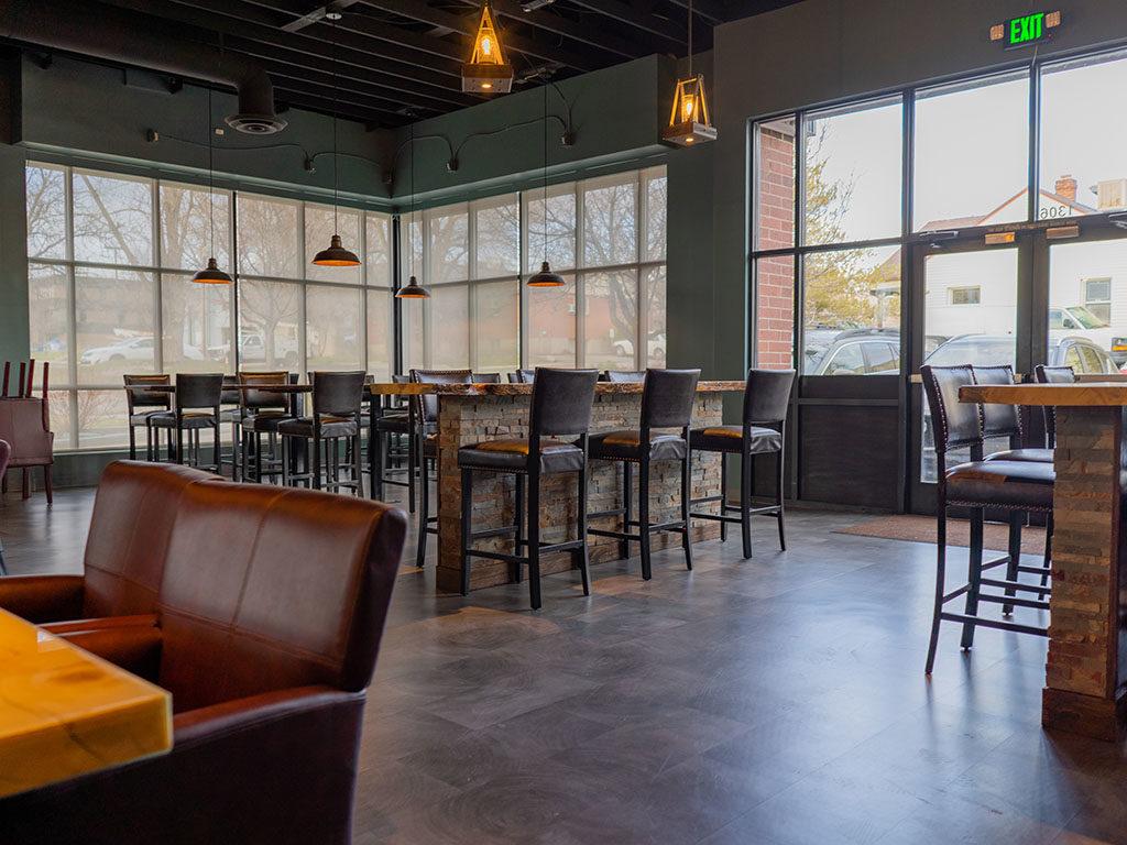 Riverbank Bar - interior