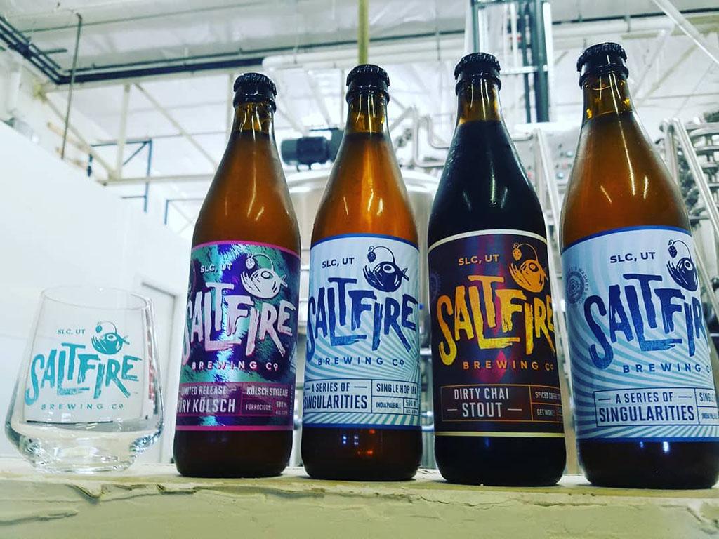 SaltFire Brewing beers (SaltFire)