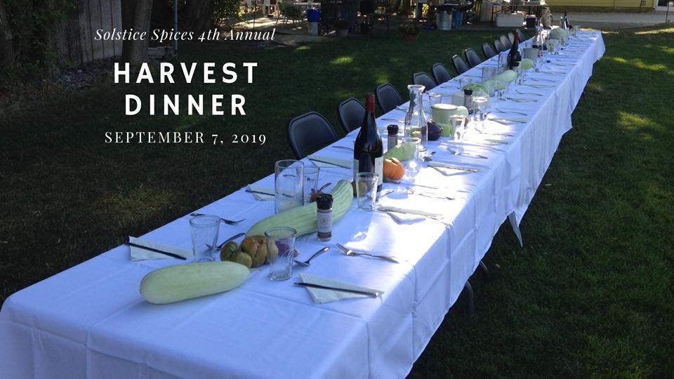 Harvest Dinner at the Farm