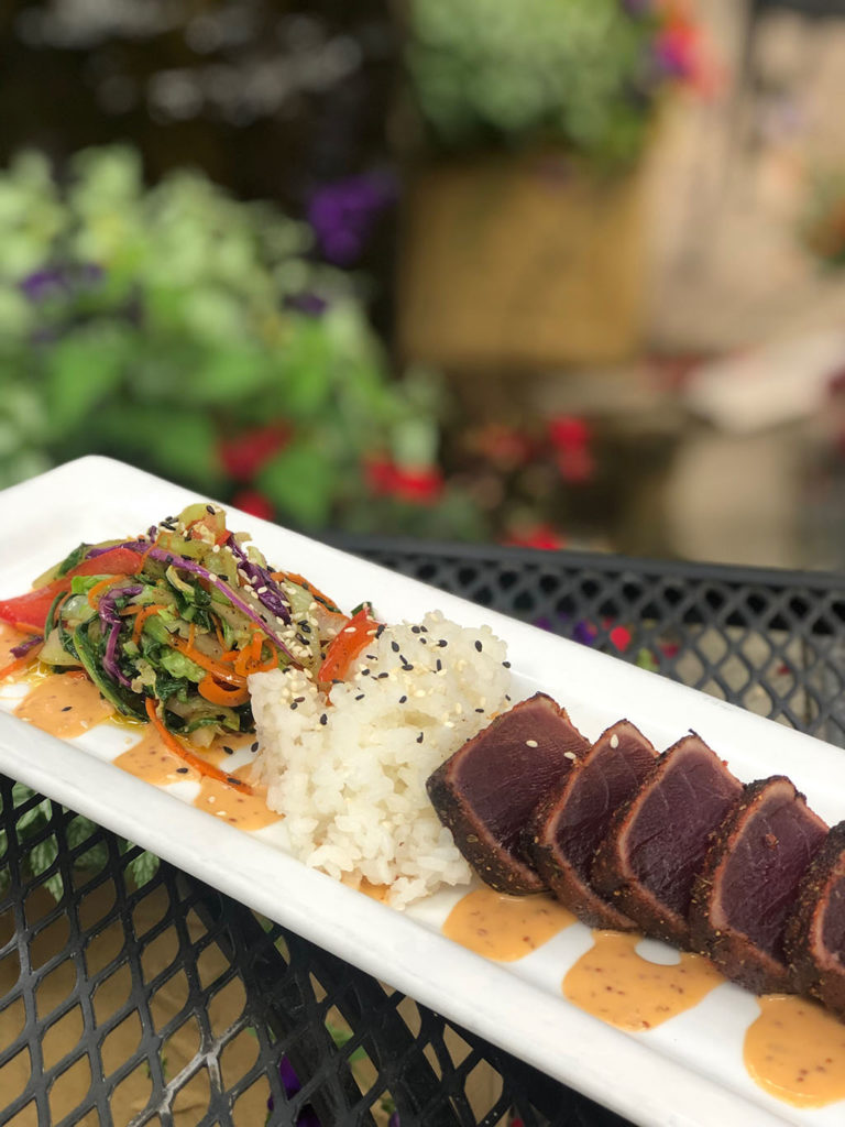 Oasis Cafe - blackened ahi (Oasis Cafe)