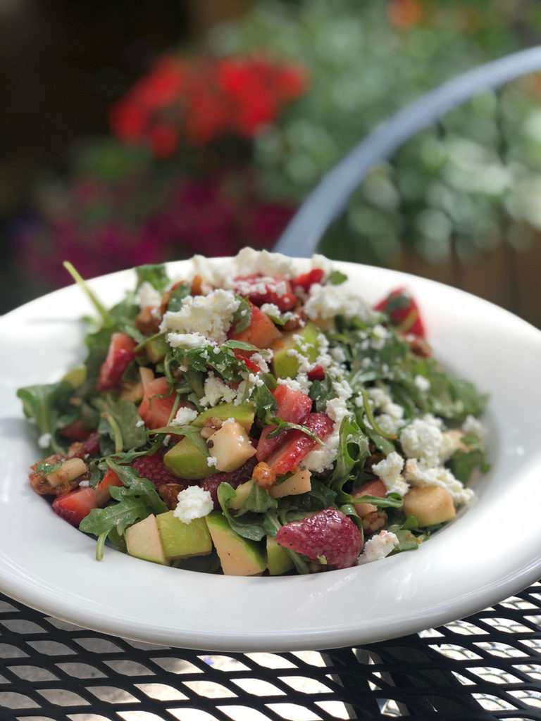Oasis Cafe - strawberry arugula salad (Oasis Cafe)
