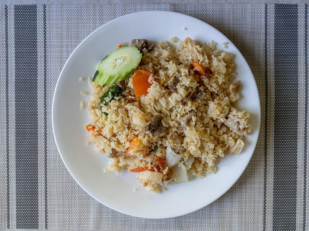 Tea Rose Diner - special fried rice
