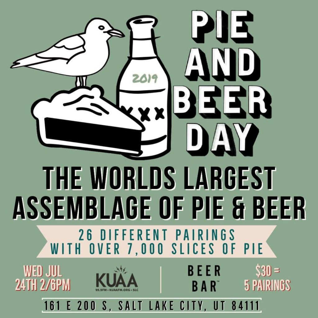 Pie And Beer Day 2019
